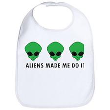 Aliens made me do it Bib