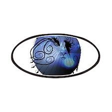 Cosmic Traveler In Dark Blue Patches