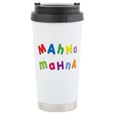 Cute Muppet Stainless Steel Travel Mug