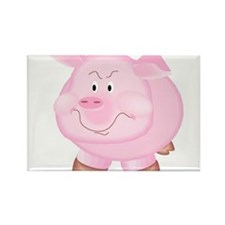 Pig1001 Rectangle Magnet