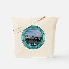 Coco Cay Porthole Tote Bag