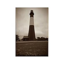 Tybee Island lighthouse 2 Rectangle Magnet