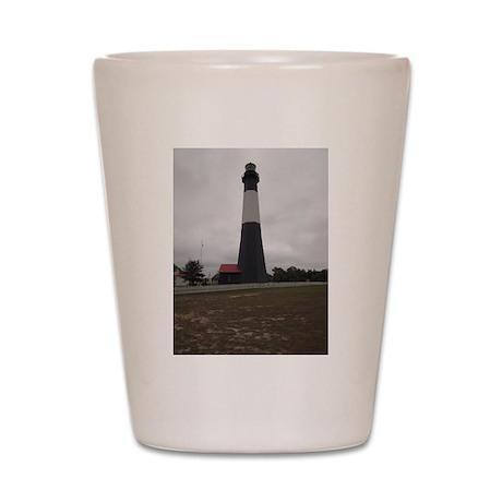 Tybee Island lighthouse 3 Shot Glass