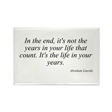 Abraham Lincoln quote 63 Rectangle Magnet