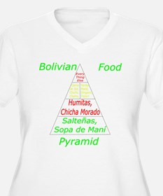 Bolivian Food Pyramid T-Shirt