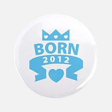 "Born 2012 3.5"" Button (100 pack)"