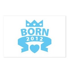 Born 2012 Postcards (Package of 8)