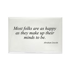 Abraham Lincoln quote 71 Rectangle Magnet