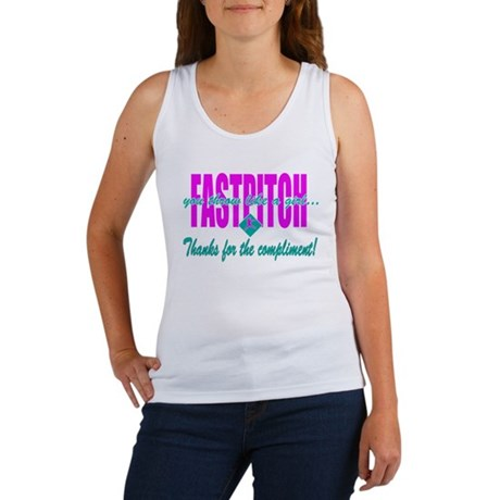 Girls Softball Women's Tank Top
