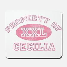 Property of Cecilia Mousepad
