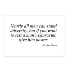 Abraham Lincoln quote 74 Postcards (Package of 8)