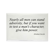 Abraham Lincoln quote 74 Rectangle Magnet