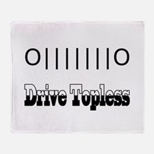 Drive Topless Throw Blanket