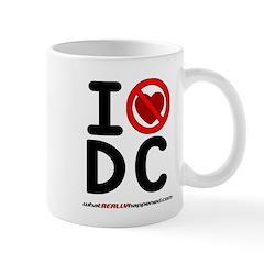 I hate DC Mug