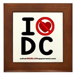 I hate DC Framed Tile
