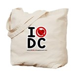 I hate DC Tote Bag
