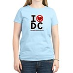 I Hate Dc Women's Light T-Shirt