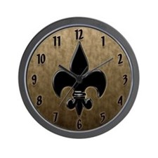 Saint Fleur De Lis Wall Clock