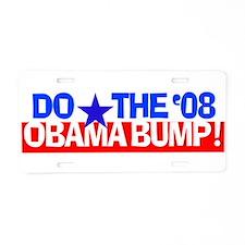Elect Barack Obama Aluminum License Plate