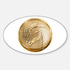 Year of the Horse Sticker (Oval 10 pk)