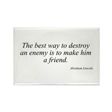 Abraham Lincoln quote 92 Rectangle Magnet