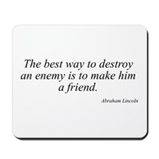 Abraham Lincoln quote 92 Mousepad