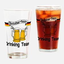 Oktoberfest Drinking Team Drinking Glass