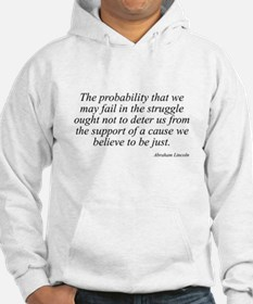 Abraham Lincoln quote 98 Hoodie