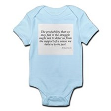 Abraham Lincoln quote 99 Infant Creeper