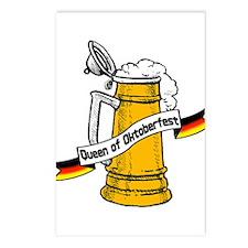 Queen of Oktoberfest Postcards (Package of 8)