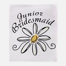 Daisy Jr Bridesmaid Throw Blanket