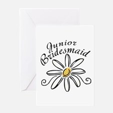 Daisy Jr Bridesmaid Greeting Card