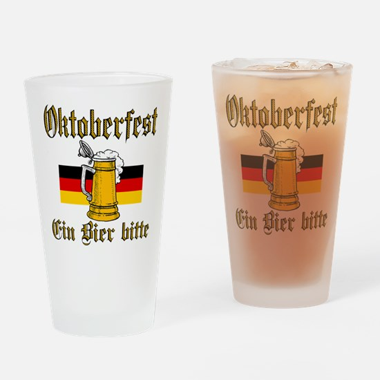 A Beer Please Drinking Glass