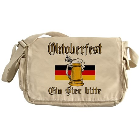 A Beer Please Messenger Bag
