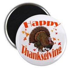 Happy Thanksgiving Magnet