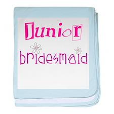 Junior Bridesmaid baby blanket