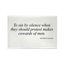 Abraham Lincoln quote 110 Rectangle Magnet