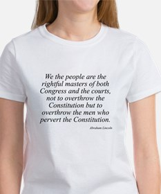 Abraham Lincoln quote 115 Women's T-Shirt