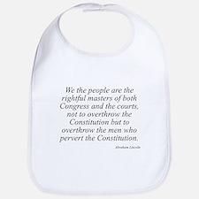 Abraham Lincoln quote 115 Bib