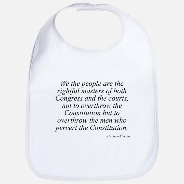 Abraham Lincoln quote 115 Bib