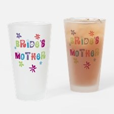 Happy Mother of the Bride Drinking Glass