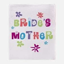 Happy Mother of the Bride Throw Blanket