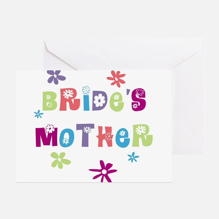 Happy Mother of the Bride Greeting Card