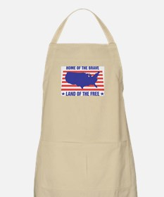 Home of the Brave BBQ Apron