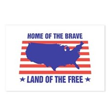 Home of the Brave Postcards (Package of 8)