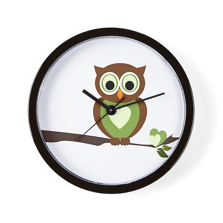 Owl 1 Wall Clock