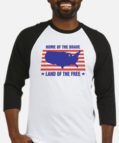 Home of the Brave Baseball Jersey
