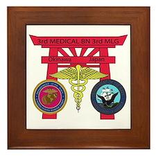 3rd Medical Battalion Framed Tile