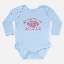 Property of Brielle Long Sleeve Infant Bodysuit