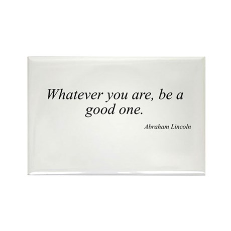 Abraham Lincoln quote 118 Rectangle Magnet